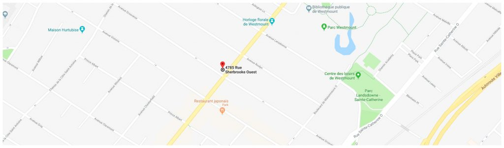 google-map- 4785 Sherbrooke Ouest